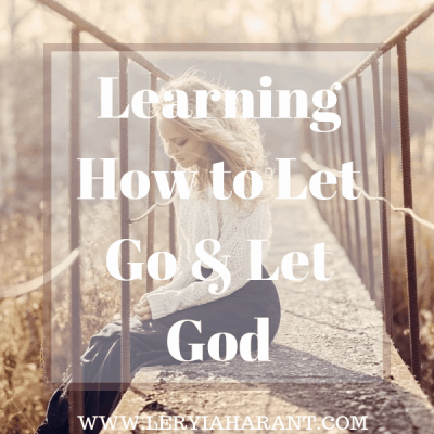 Learning to Surrender to God in the Storm