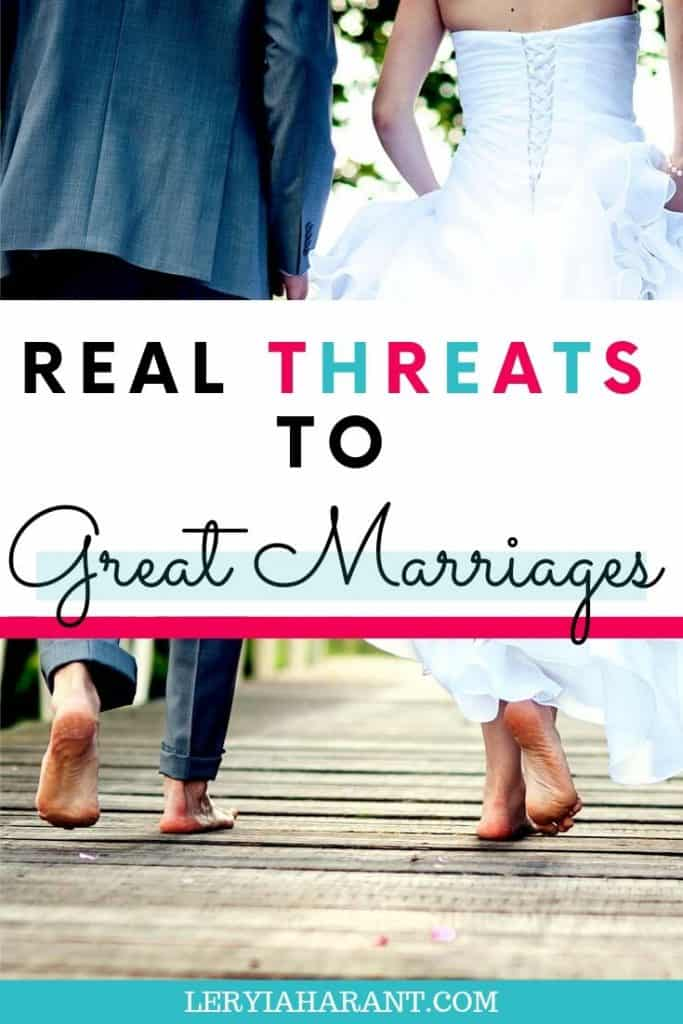 married couple walking together against marriage threats