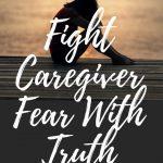 fearful female caregiver sitting alone on dock