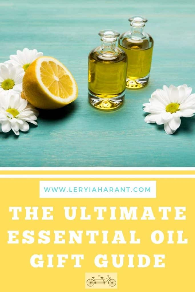 lemons daisies and essential oils