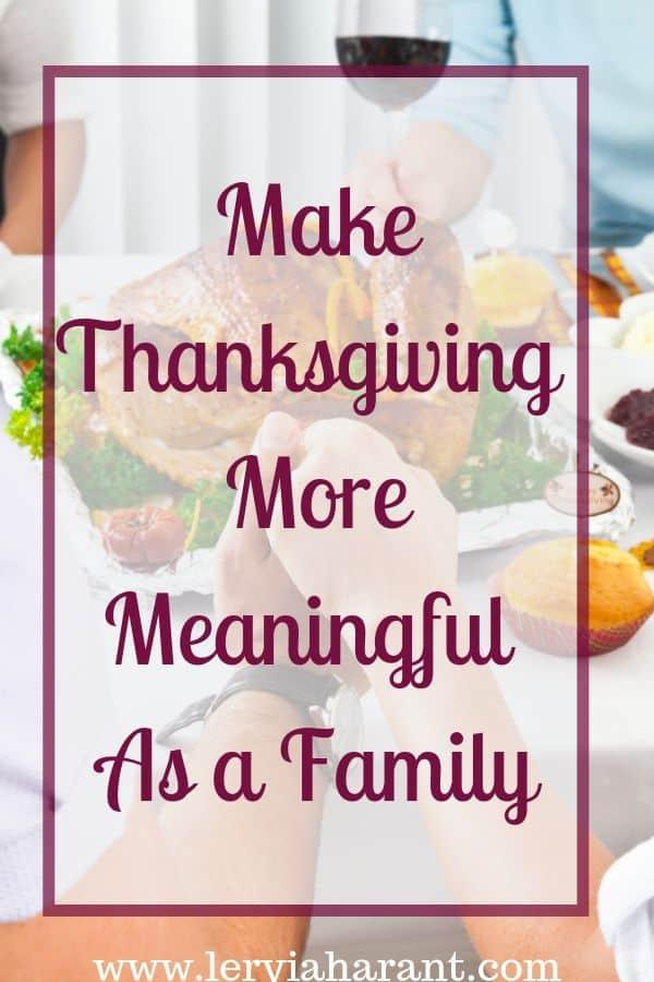 family thanksgiving dinner table