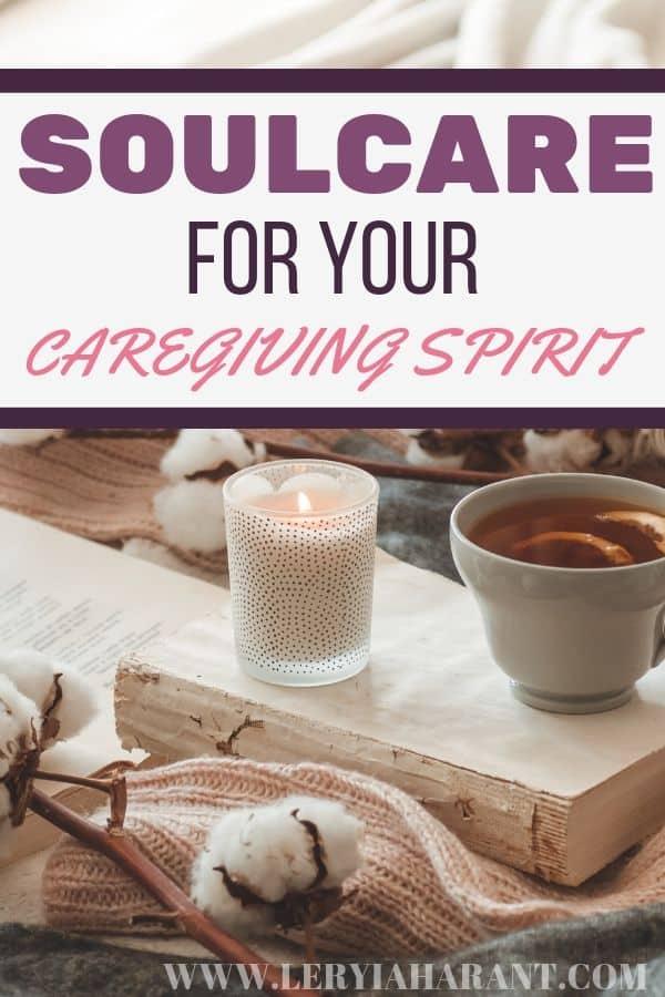 cotton books candle and tea