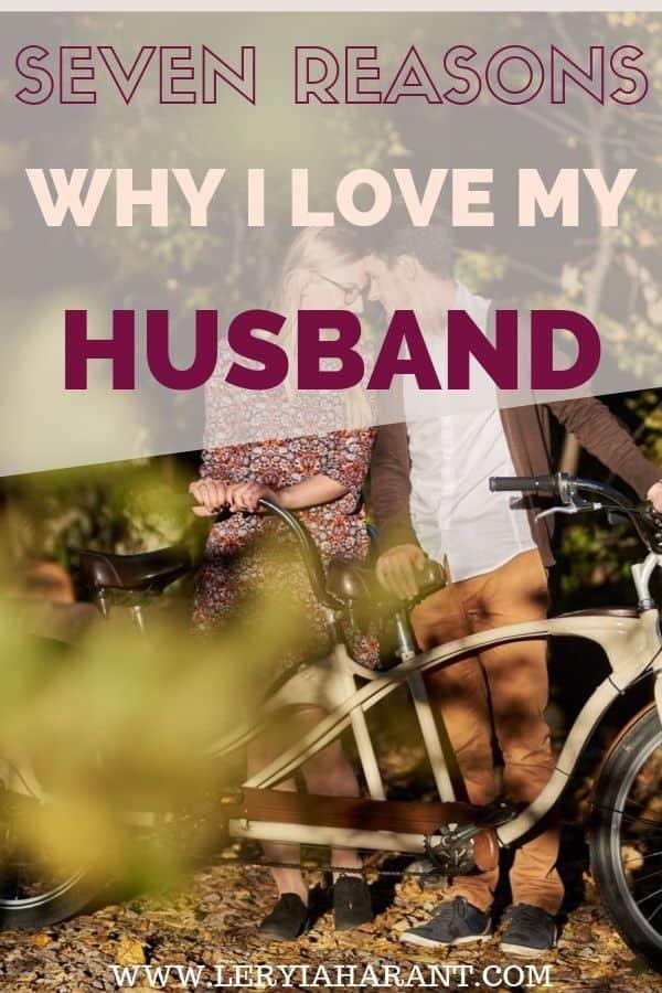 I love my husband riding a tandem bike with wife