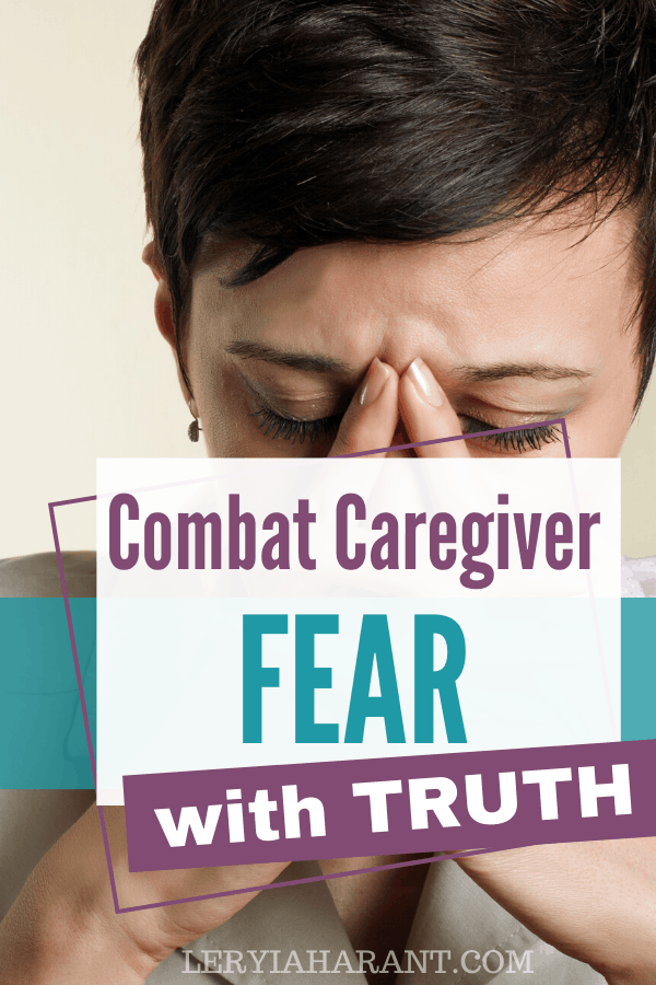 fearful female caregiver in need of bible verses on fear
