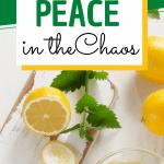 fresh lemons for decoration