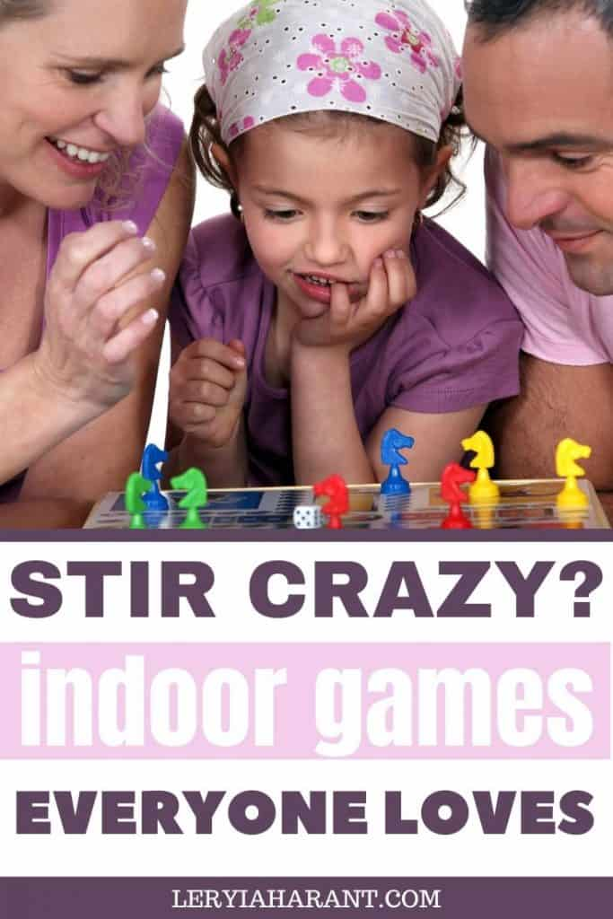 fun games to play inside with the whole family