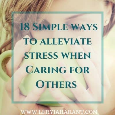 Tackle Caregiver Stress With These Simple Stress Busters