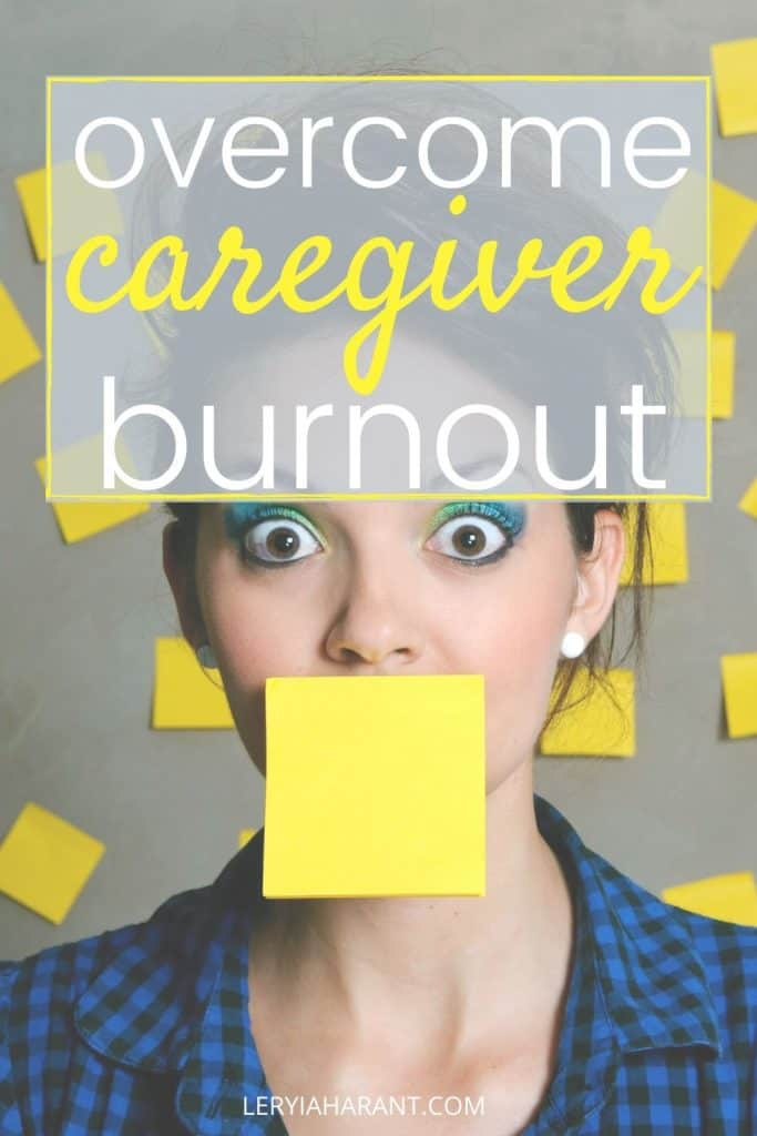 stressed out caregiver