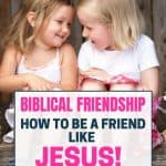 two little girl friends talking